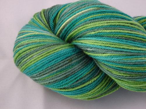 Greening Superwash Merino/Nylon Sock Yarn