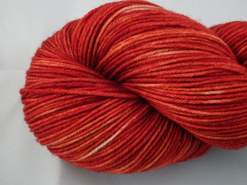 Ruby Tan Superwash Merino/Nylon Sock Yarn