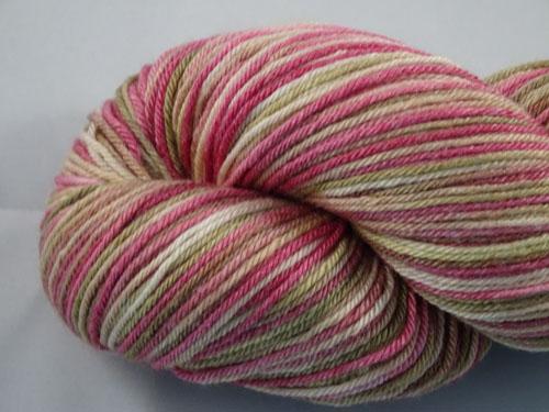 Rose Gardens Superwash Merino/Bamboo/Silk Sock Yarn