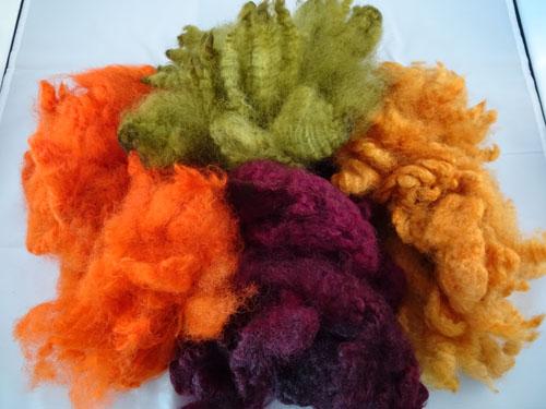 Autumn Shades Dyed Fleece