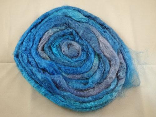 Azure Tussah Silk