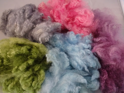 Pastel Shades (5) Dyed Fleece