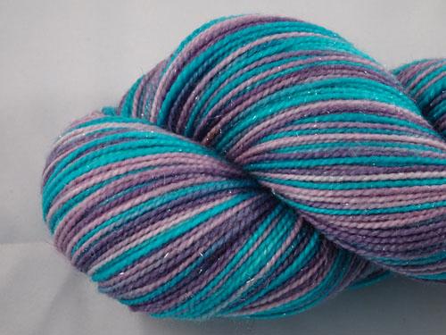 Amelia SW Merino/Nylon/Stellina sock yarn