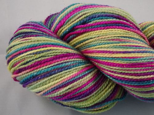 Vivienne SW Merino/Nylon/Stellina sock yarn