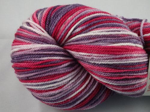 Berries Galore Superwash Merino/Cashmere/Nylon Sock Yarn