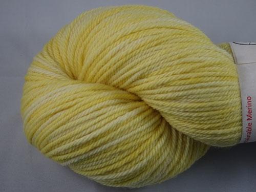 Lemon 8ply Sustainable Merino