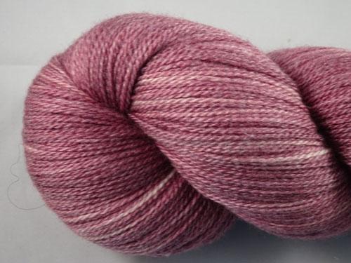 Lilac Rose Merino/Silk Lace Weight Yarn