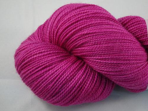 Almost Magenta SW Merino Sock Yarn