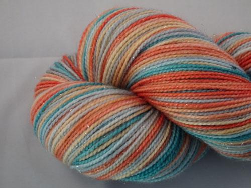 Chloe SW Merino Sock Yarn/Nylon/Stellina