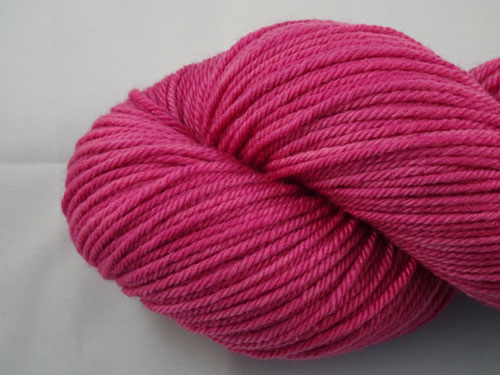 Dark Fuschia 8ply Sustainable Merino