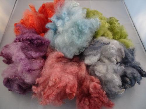 Mixed Pastels Dyed Fleece