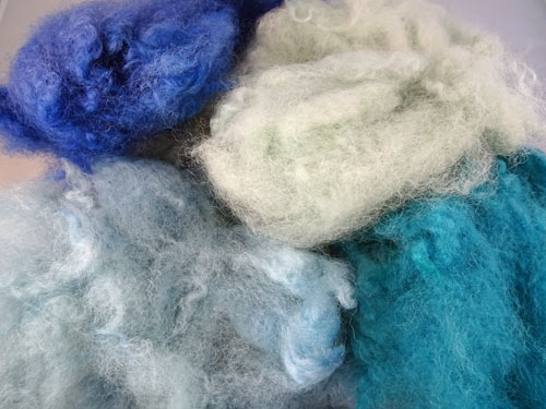 Sea Shades Dyed Fleece