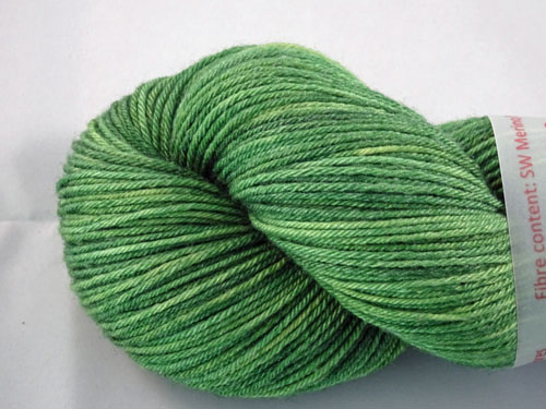 Emerald Superwash Merino/Bamboo/Silk Sock Yarn