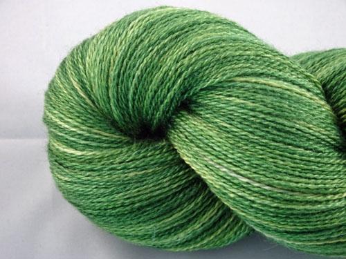 Emerald Merino/Silk Laceweight Yarn