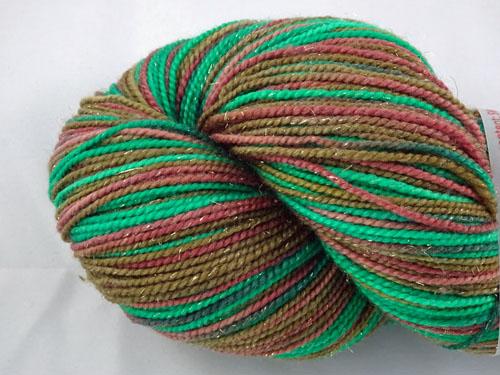 Gnome SW Merino/Nylon/Stellina sock yarn