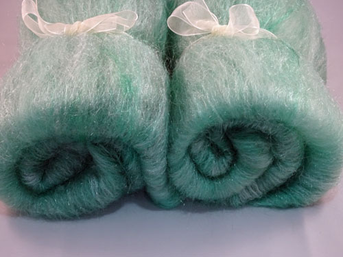 Green Sparkling Batts