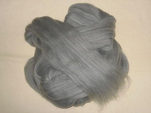 Grey Merino Tops