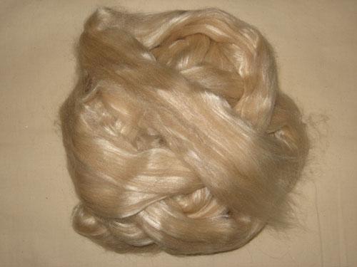 Fawn Alpaca/Bleached Tussah Silk Tops