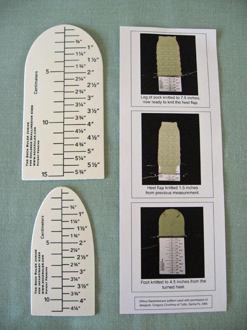 The Junior Sock Ruler Set