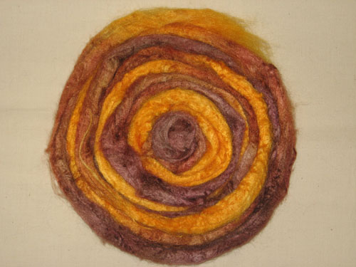 Golden Brown Tussah Silk