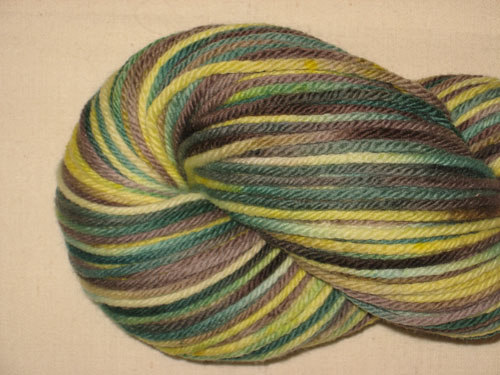 Toad Hall 8ply White Gum Wool
