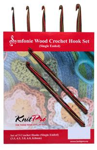 Knit Pro Symfonie Crochet Hook set