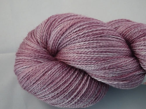 Lavender Merino/Silk Laceweight Yarn