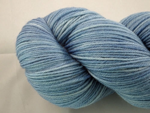 Light Blue SW Merino/Cashmere/Nylon Sock Yarn