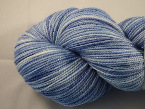 Little Boy Blue SW Merino/Nylon/Stellina sock yarn