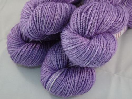 Loveliest Lilac 8ply Alpaca Yarn