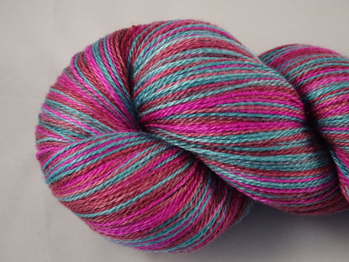 Madame Butterfly Merino/Silk Laceweight Yarn