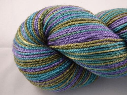 Moon Face (L) Superwash Merino/Bamboo/Silk Sock Yarn