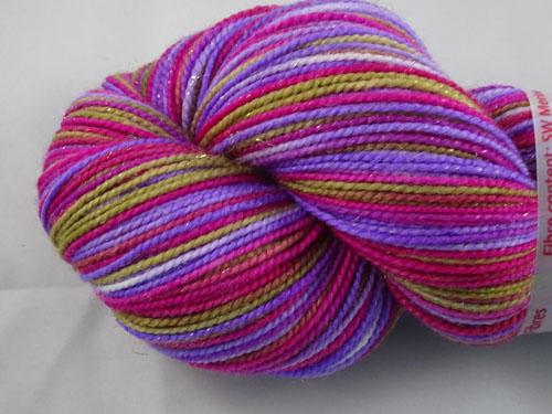 Morgana (L) SW Merino Sock Yarn/Nylon/Stellina