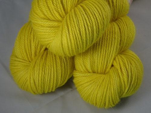 Neon Yellow 8ply Alpaca Yarn