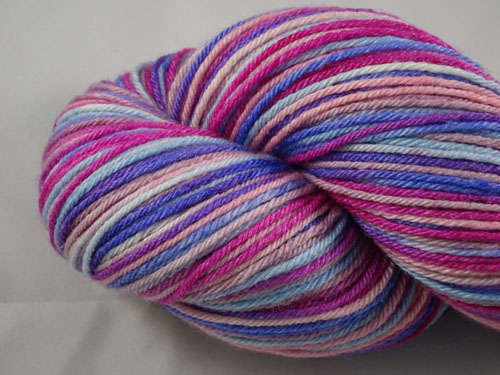 Orchid Superwash Merino/Bamboo/Silk Sock Yarn