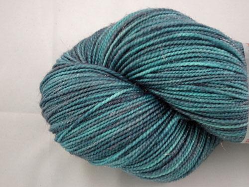 Purple Madness SW Merino Sock Yarn/Nylon/Stellina