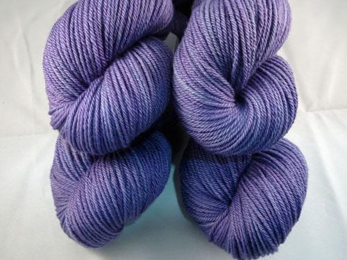 Pansy Purple 8ply Sustainable Merino