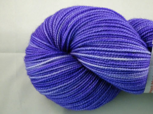 Purple SW Merino Sock Yarn