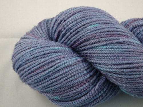 Purple Shiver 8ply Sustainable Merino