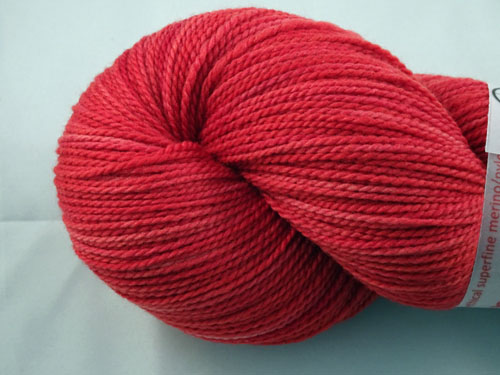 Ready Red WGW 4ply Merino/Nylon Sock Yarn