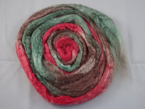 Red Flowering Gum Tussah Silk