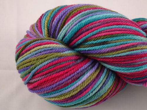Sass 8ply White Gum Wool