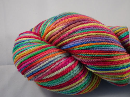 Stained Glass 8ply Sustainable Merino