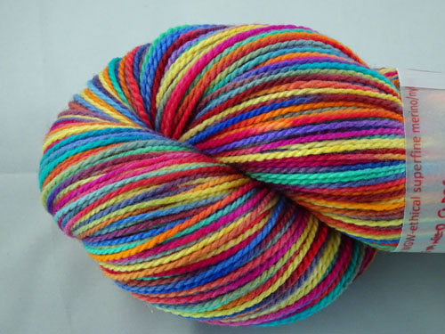 Stained Glass WGW 4ply Merino/Nylon Sock Yarn