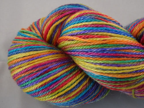 Stained Glass Superwash Merino/Tencel Sock Yarn