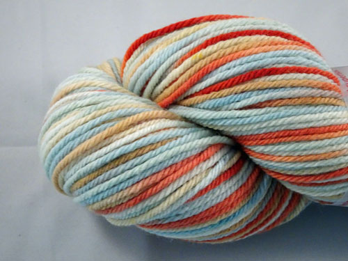 Sugared Almonds 8ply White Gum Wool
