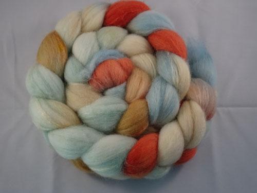 Sugared Almonds Merino/Silk tops