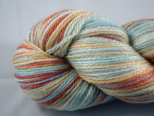 Sugared Almonds Superwash Merino/Tencel Sock Yarn