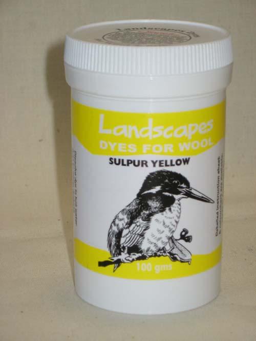 Sulphur Yellow Dye
