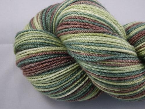 Tall Timber (L) Superwash Merino/Bamboo/Silk Sock Yarn